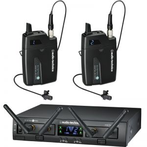 Audio Technica ATW-13LL Wireless Lavalier Dual System