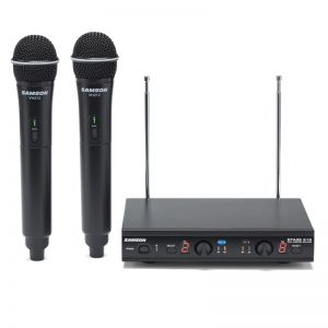 Samson Stage 212 - VHF Frequency-agile Dual Handheld Mic System