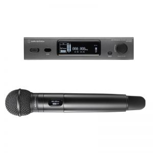 Audio-Technica 3000 Series Handheld Microphone System - 470-529 MHz