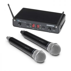 Samson Concert 288 Dual Wireless Microphone - H Band
