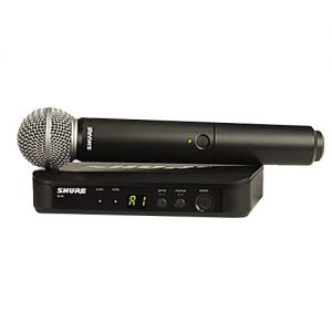 Shure BLX Wireless Microphone W/ PG58 Handheld
