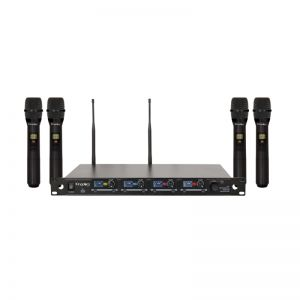 Kingdom V5 4 Handheld Wireless Mic System