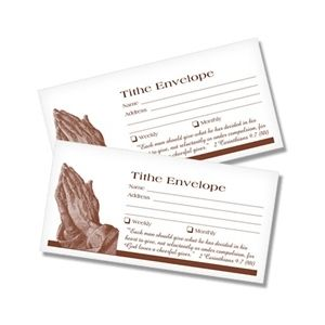 Tithing Envelopes 1