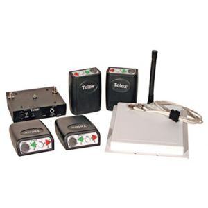 Telex Prof Wireless Communication System 4 members w/out headset