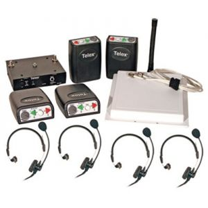 Telex Professional Wireless Communication System - 4 team members