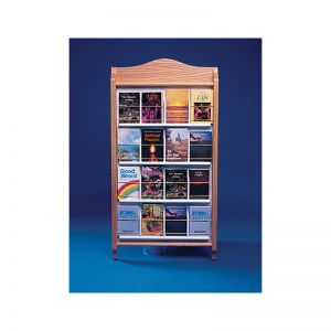Tracts Display Rack - Up To 16 Tracts