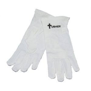 White Usher Gloves 1