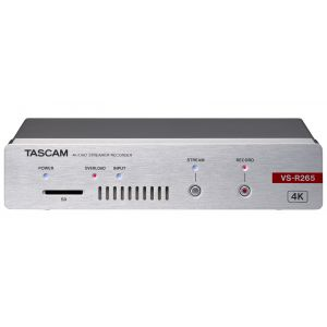 Tascam VSR-265 Stand-Alone 4K UHD Video Encoder/Decoder for Live Streaming