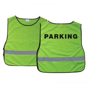 Safety Vest - Parking - Green