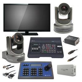 Church Robotic 2 Camera Video Streaming Package