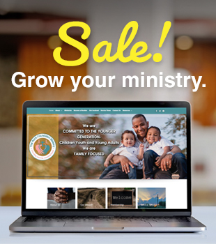 Help grow your ministry with a Kingdom Website