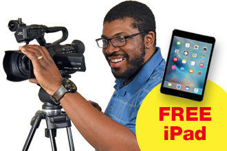 Free iPad with purchase of this JVC 4K Streaming Camera or Camera Package only from Kingdom