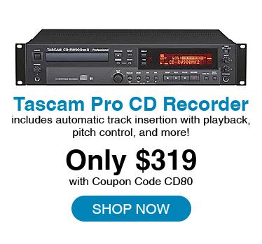 ascam 4KT9002 Pro CD Recorder