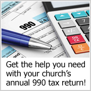 Church 990 Tax Return Service