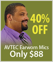 Economical Earworn Mic just $88