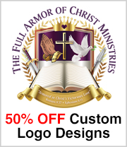 Half Price Church Logos for a Limited Time