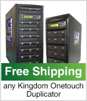 Free Shipping on any Kingdom One touch Duplicator!