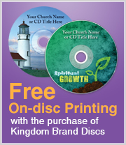 Free OnDisc Printing with purchase of Kingdom brand discs