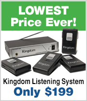 Lowest price ever on this Assisted Listening System