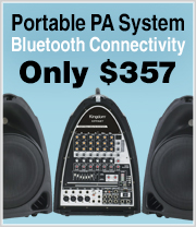 Lowest price ever on our Bluetooth Portable PA System