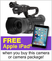 Free Ipad Mini with JVC Camera or camera package