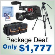 Panasonic Video Camera Package Deal