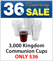 3 Boxes of 1,000 count Kingdom Communion Cups
