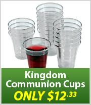 Kingdom Communion Cups just $12.33