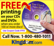 free on disc printing