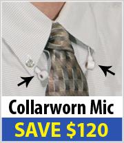 Collarworn Microphone just $77