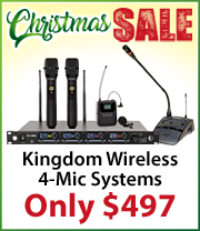SYSV5 Kingdom Mic Systems just $497!