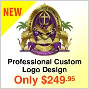 Kingdom's New Custom Logo Design Service