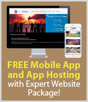 Free App and 90 Days Hosting with Expert Website Package