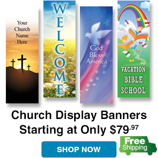 Free Shipping on Kingdom Banners