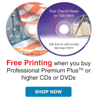 Free Printing when you buy select Kingdom brand Media