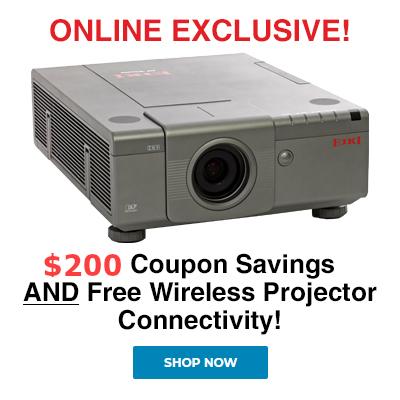 Eiki EIP-WX5000 - WXGA 720p DLP Projector