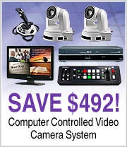 Save $492 on this Computer Controlled Video Camera System