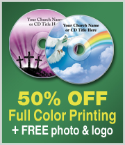 50% off Full Color Printing- Plus Free Photo & Logo