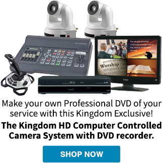 HD Computer Controlled Camera System
