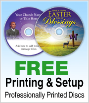 Free Printing and Setup on Kingdom CDs and DVDs