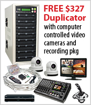 Free 7 Bay Duplicator with this Computer Controlled Camera Package