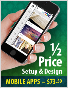 1/2 price Setup on these Websites and Apps