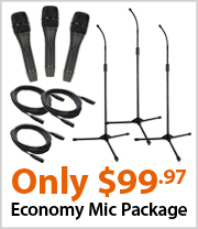 Best Value Microphone Package!