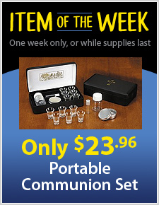 Metal Portable Communion Set