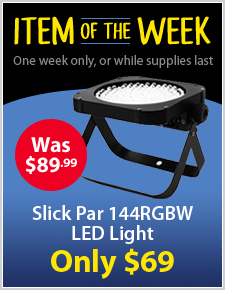 Slick Par 144 RGBW LED Light