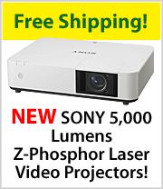 SONY VPL PWZ10 - WXGA HD 3LCD Projector