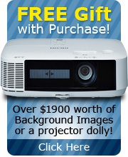 Your Choice of Free Gift with Ricoh PJ X5360N 4200 ANSI Lumen Video Projector