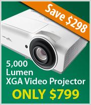 Vivitek DX831 3D XGA - DLP Projector with Speaker - 5000 ANSI lumens