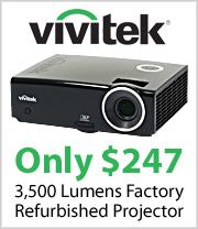 Vivitek D837 Refurbished Projector just $247