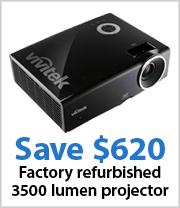 Vivitek 3500 Lumens XGA Digital Projector - Refurbished